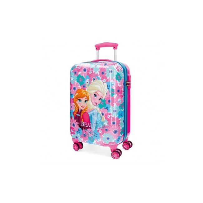 Frozen ABS trolley 55 cm 4W