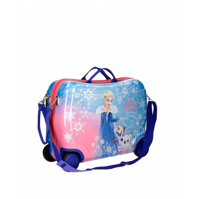 Olaf Frozen Adventure ABS rol zitkoffer