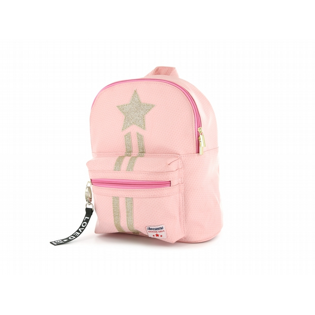 Shoesme Star kinderrugzak pink
