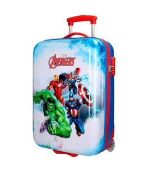 Avengers kinder trolley Clouds ABS 55cm 2W