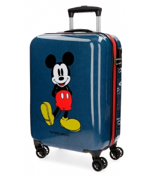 Mickey Mouse trolley blue ABS 68 cm