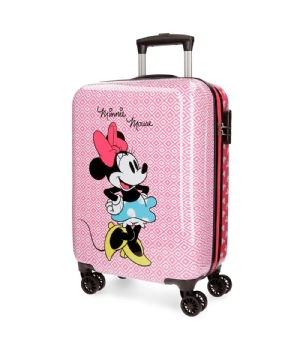Minnie Rombos ABS trolley 68 cm 4W