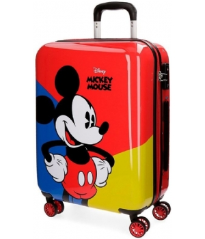 Mickey Mouse red ABS trolley 55 CM 4W